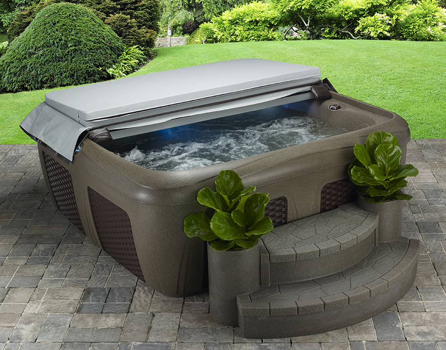 big ez plug u0026 play 56 person hot tub